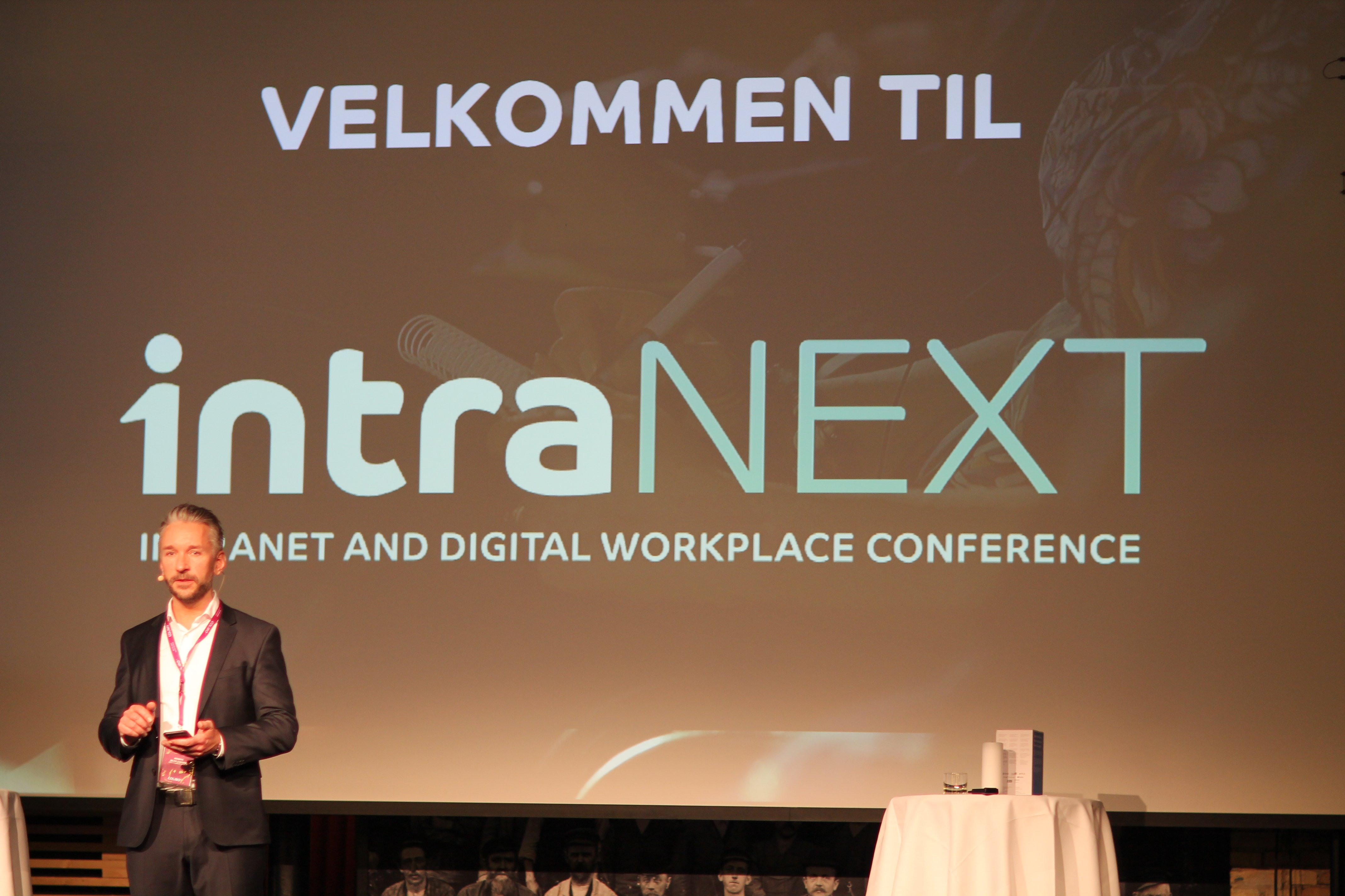 intraNEXT 2018 - A talk about intranet and the digital workplace