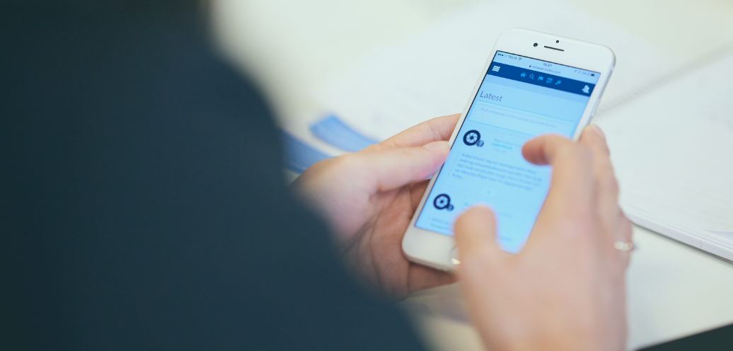 Intranet on the mobile phone - Colibo
