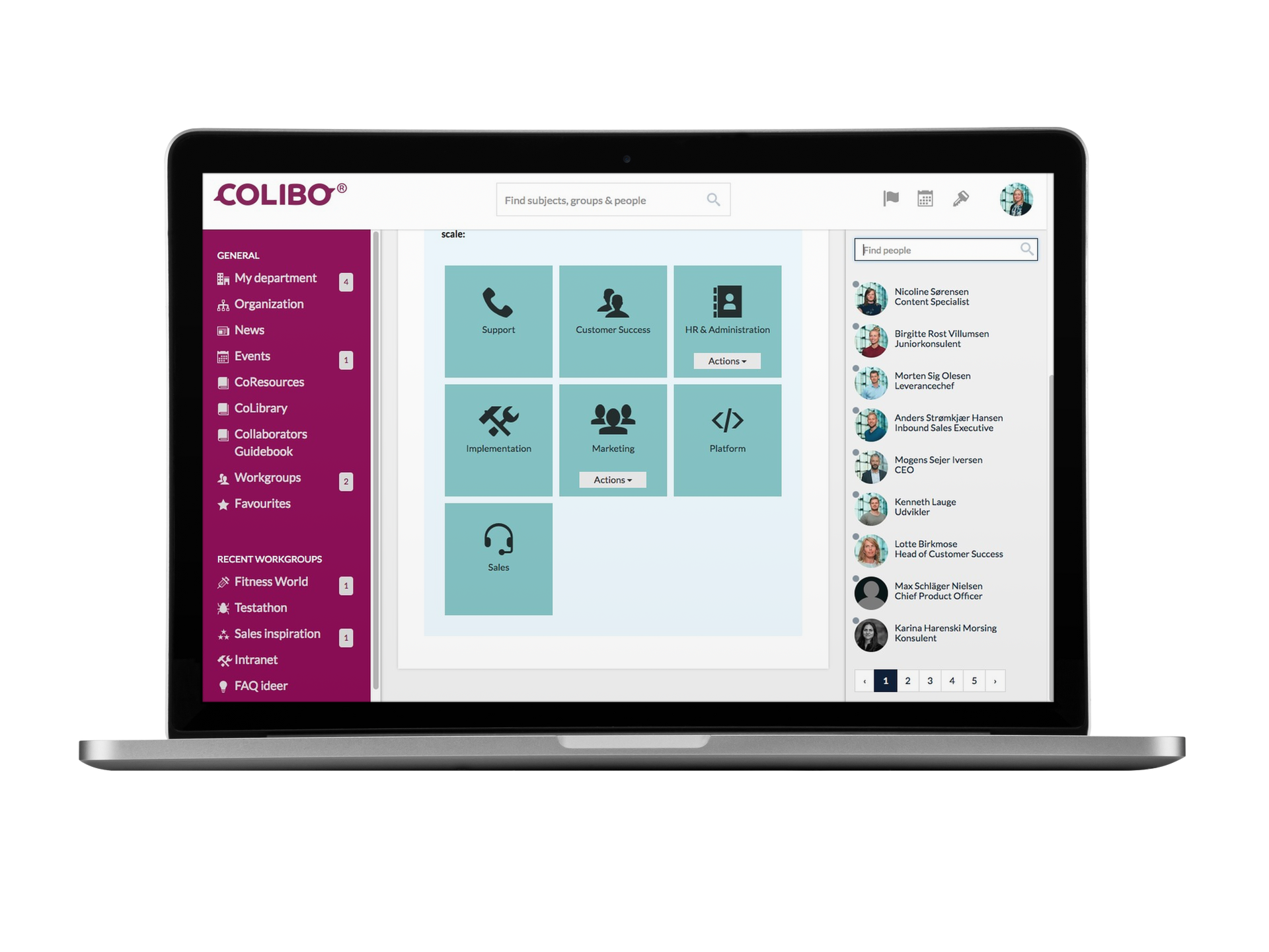 Colibo SaaS intranet solution secures continuous updates