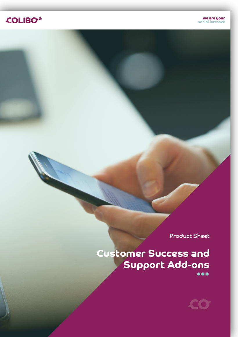 Colibo Customer Success & Support product sheet