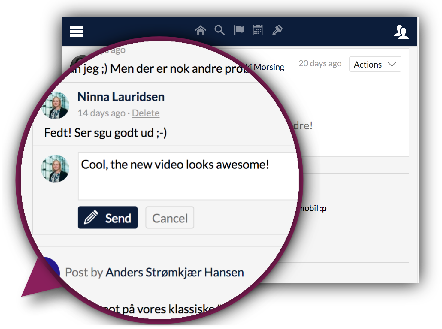 intranet example