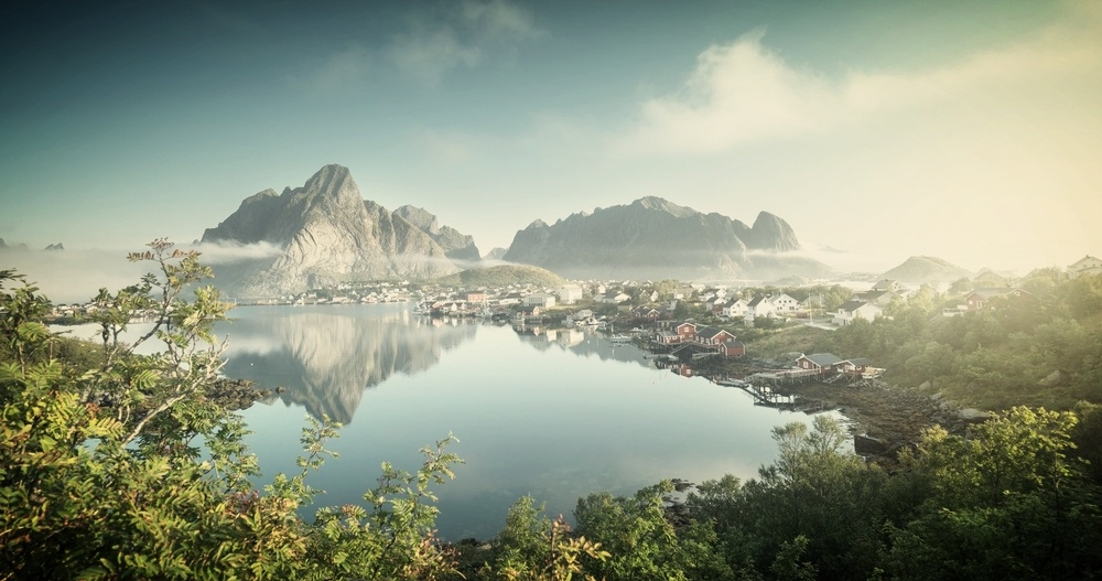 Reine Village, Lofoten Islands, Norway-286829-edited
